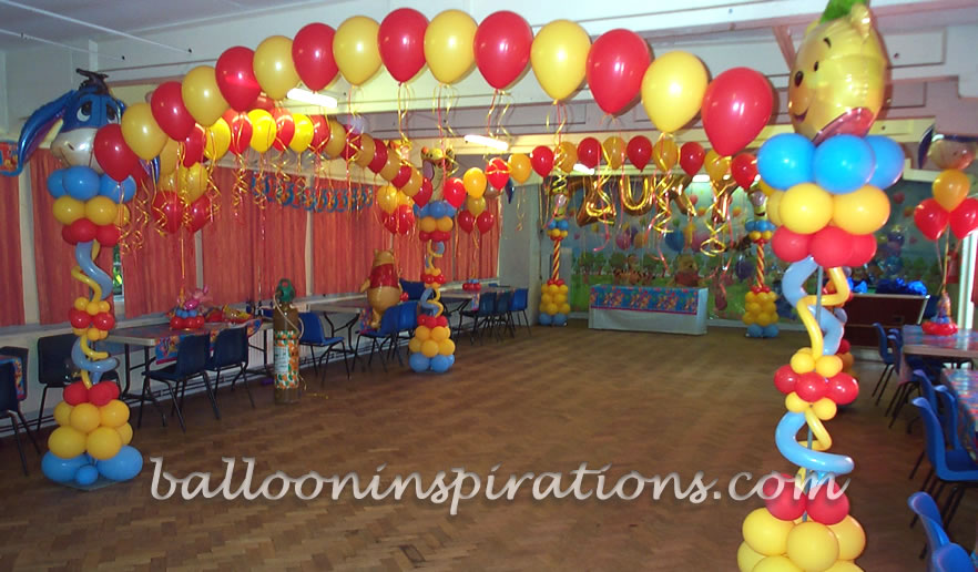 balloon decoration ideas for birthday party at home balloon decorations birthday favors ideas 13681