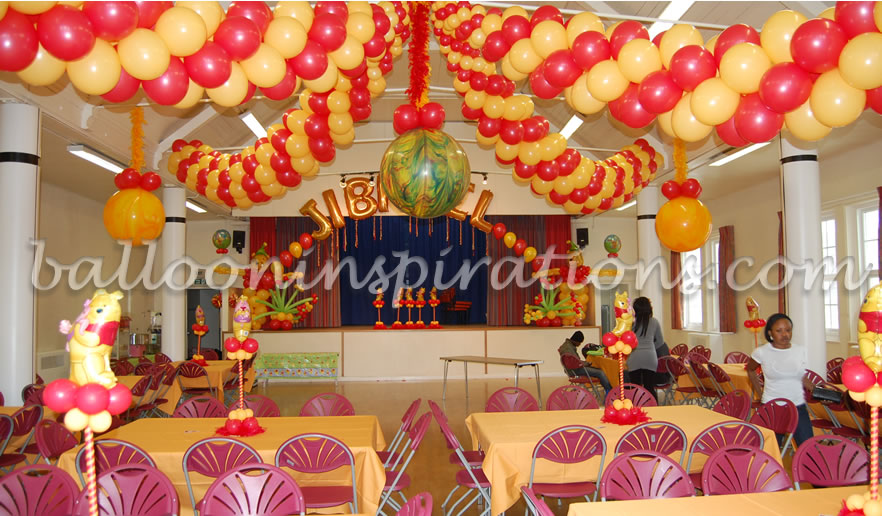 Room decorate for birthday party for Baby shower function decoration