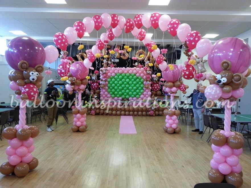 S Birthday Party Themes Teddy Bears Picnic Theme Dance Floor Canopy
